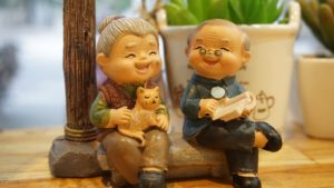Grandparents Sitting Together