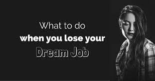 What If You Loose Your Job