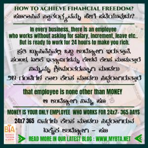 2 EASY STEPS TO ACHIEVE FINANCIAL FREEDOM