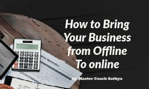 Bring your business from offline to online