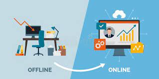Business from offline to online