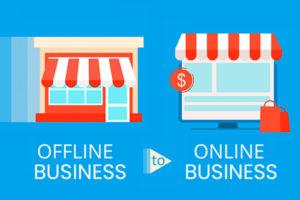 Offline Business to Online