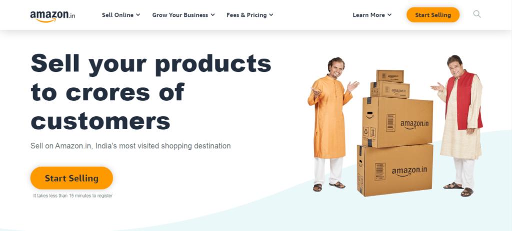 Creating Amazon Seller Account- Step 1