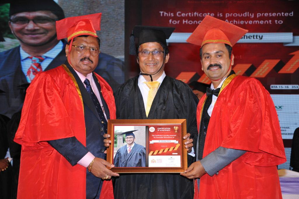 BTA Felicitation Program