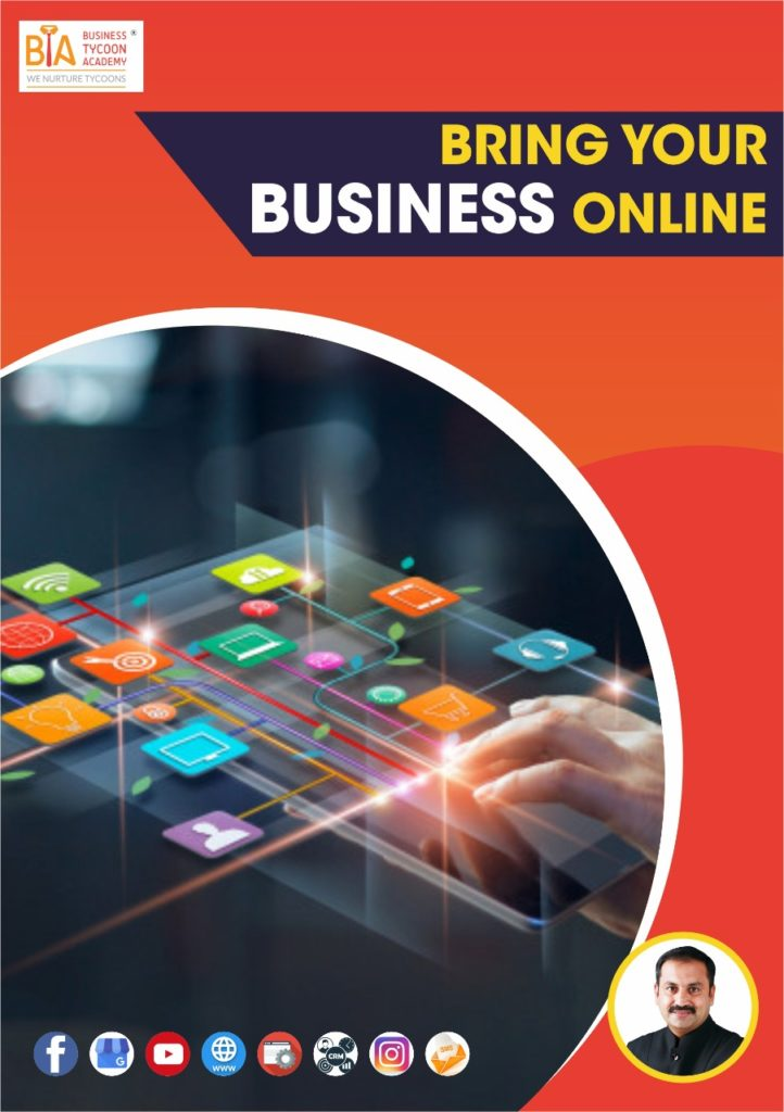 Bring Business Online Ebook Front Cover